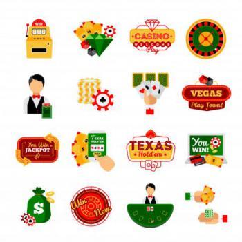 animerad bild med 12 små casinobilder